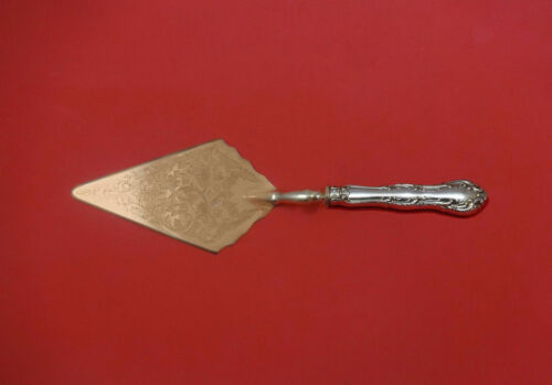 Old Atlanta by Wallace Sterling Silver Pastry Server Fancy Vermeil HH Custom