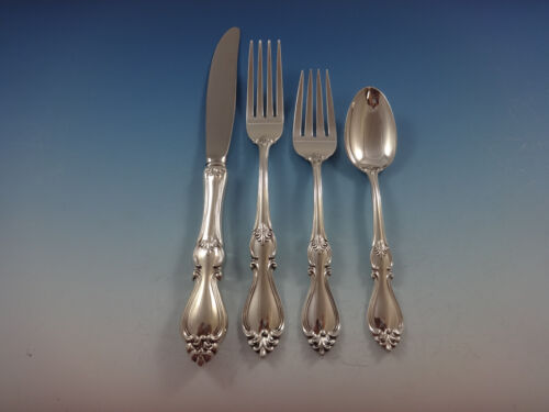 Queen Elizabeth I by Towle Sterling Silver Flatware Regular Size Setting(s) 4pc