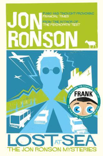 Lost at Sea: The Jon Ronson Mysteries by Jon Ronson Paperback Book Free Shipping