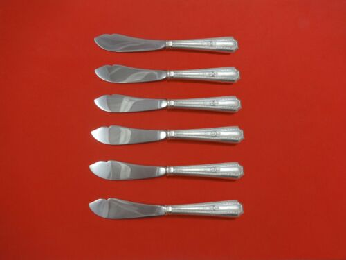 Colfax by Durgin-Gorham Sterling Silver Trout Knife Set 6pc. Custom Made 7 1/2""