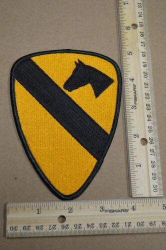 US Army 1st Cavalry Division Full Color, Shoulder,  Embroidered Unit PatchPatches - 36078