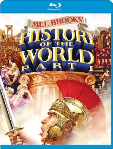 [BLU-RAY/A NEW] HISTORY OF THE WORLD, PART I
