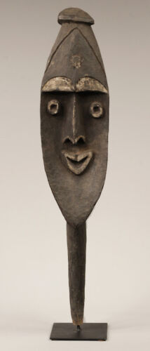 yena figure, waskuk hills, sepik valley, oceanic tribal art, papua new guinea