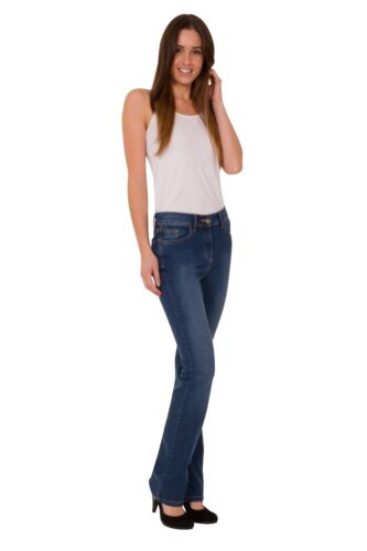 Ex M&S Women's Stretch Jeans Ladies Collection Bootcut Bootleg Slim Size 6-24