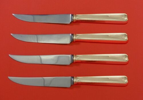 Lady Baltimore by Whiting Sterling Silver Steak Knife Set 4pc HHWS  Custom Made