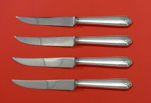 Lady Hilton by Westmorland Sterling Silver Steak Knife Set 4pc HHWS  Custom Made