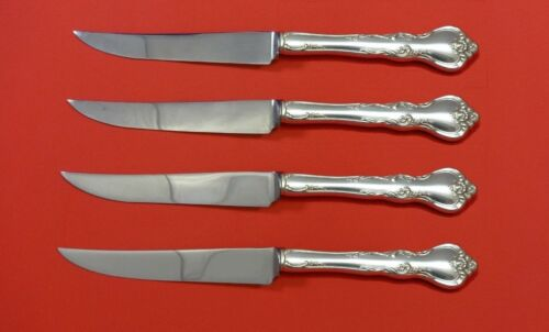 Savannah by Reed & Barton Sterling Silver Steak Knife Set 4pc HHWS  Custom Made