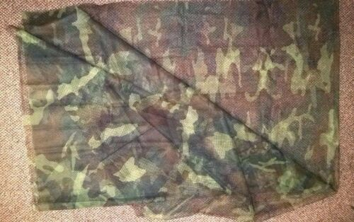 US Military Individual Woodland Camouflage Cover 5'x8' NEWOriginal Period Items - 13983