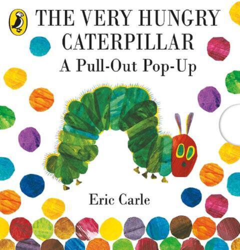 The Very Hungry Caterpillar: a Pull-out Pop-up by Eric Carle Hardcover Book Free
