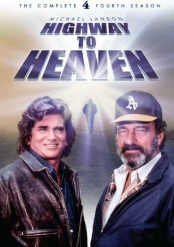 Highway To Heaven: The Complete Fourth Season - 5 DISC SET (2014, DVD NEW)