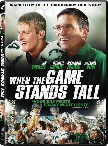 When The Game Stands Tall (2014, DVD NEW)