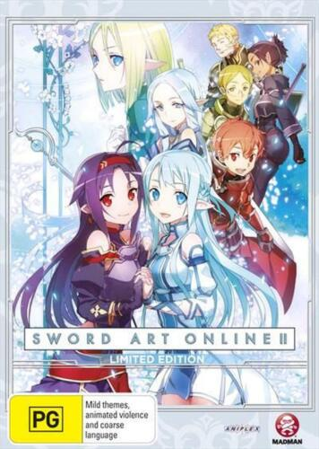 Sword Art Online 2 : Part 4 : Limited Edition - DVD Region 4 Free Shipping!