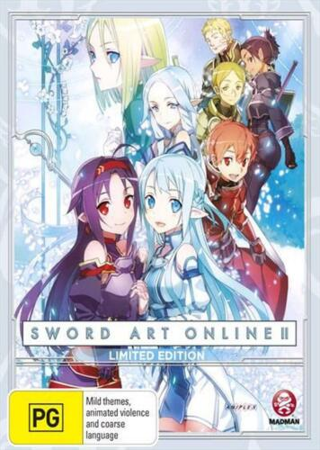 Sword Art Online 2 : Part 4 : Limited Edition - Blu Ray Region B Free Shipping!