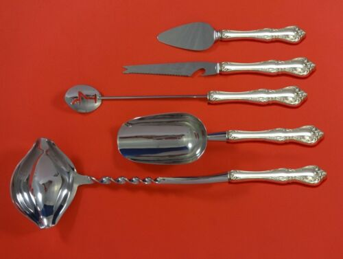 Debussy by Towle Sterling Silver Cocktail Party Bar Serving Set 5pc Custom Made