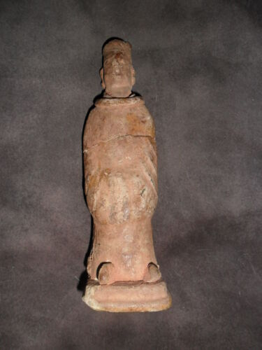 Chinese Tang Pottery figurine, priest? pottery[*7]