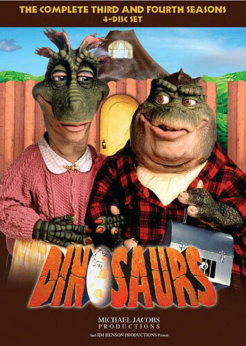 Dinosaurs: The Complete Third & Fourth Season - 4 DISC SET (2016, DVD NEW)