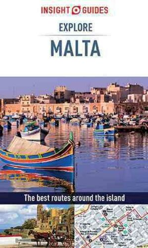 Insight Guides: Explore Malta by Insight Guides (English) Paperback Book Free Sh