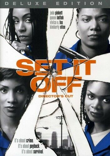 Set It Off [Deluxe Edition] [Director's Cut] [DVD NEW]