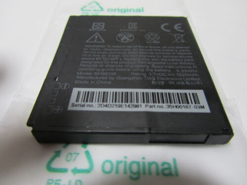 ORIGINAL HTC VIVID RAIDER Velocity G19 TELSTRA HOLIDAY X710E BATTERY BH39100