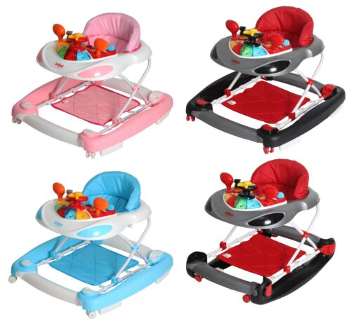 Bebe Style Deluxe 2 IN 1 F1 Racing Car Baby Walker/Rocker +Musical Activity Toy! <br/> HIGHEST QUALITY!! HIGHEST SAFETY!! HIGHEST VALUE!!!