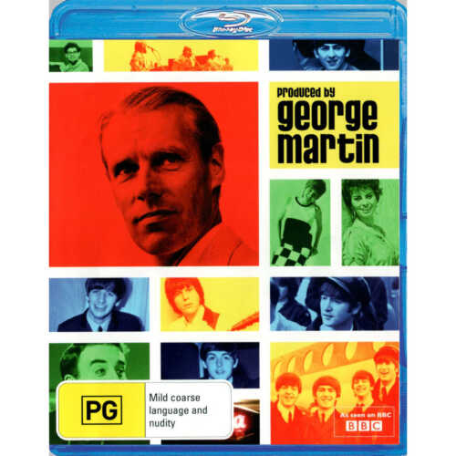 F24 BRAND NEW SEALED George Martin - Produced By George Martin (Blu-Ray, 2012)