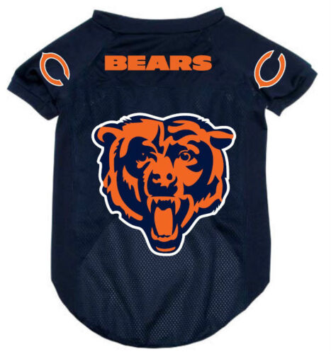 NEW CHICAGO BEARS PET DOG MESH FOOTBALL JERSEY ALL SIZES ALTERNATE STYLE