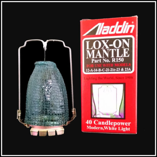 ALADDIN LAMP LOX-ON MANTLE PART NUMBER R150 - FRESH NEW STOCK