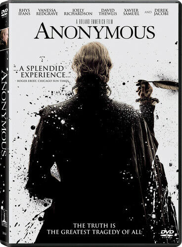 Anonymous (2012, DVD NEW)