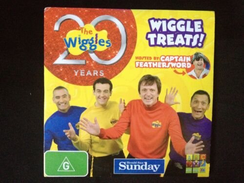 THE WIGGLES ~ 20 YEARS ~ 20th BIRTHDAY YEAR ~ VERY RARE DVD
