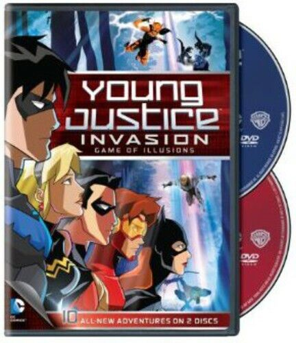 Young Justice Invasion - Game Of Illusions: Season 2 Pt. 2 (2013, DVD NEW)