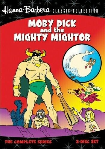 Hanna-Barbera Classic Collection: Moby Dick and the Mighty (2011, DVD NEW) DVD-R
