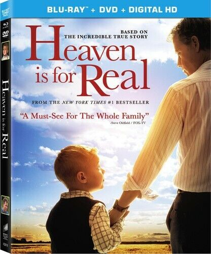 Heaven Is For Real - 2 DISC SET (2014, Blu-ray NEW)