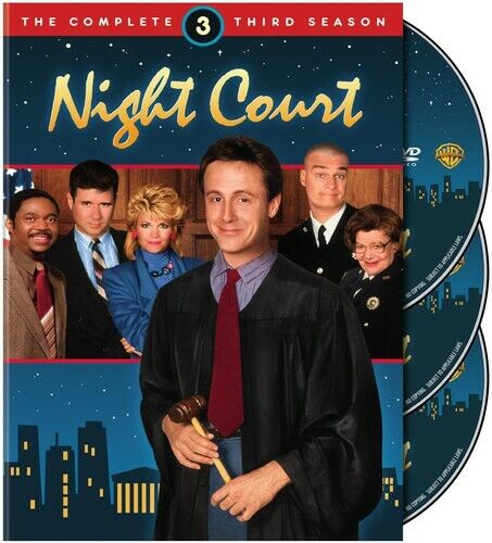 Night Court: The Complete Third Season [3 Discs] (2010, DVD NEW)