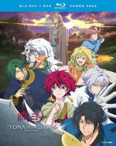 Yona Of The Dawn: Part Two - 4 DISC SET (2016, Blu-ray NEW)