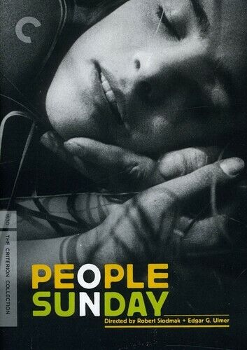 [DVD NTSC/1 NEW] PEOPLE ON SUNDAY [CRITERION COLLECTION]