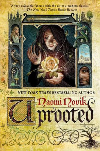 Uprooted by Naomi Novik (English) Paperback Book Free Shipping!