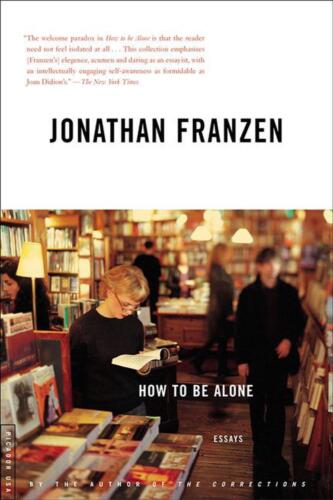 How to Be Alone by Jonathan Franzen (English) Paperback Book Free Shipping!