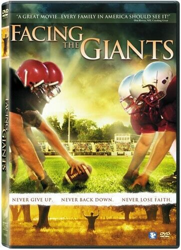 Facing the Giants (2008, DVD NEW)
