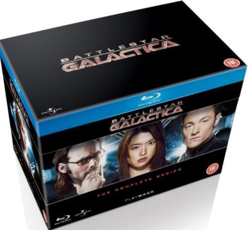 Battlestar Galactica: The Complete Series - Blu-ray Region B Free Shipping!