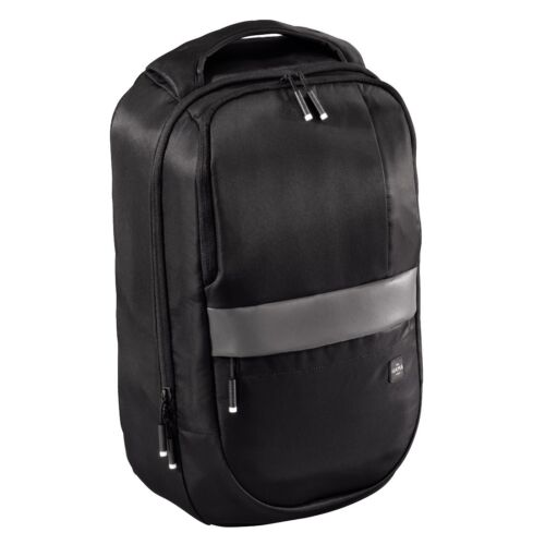"""Hama est.1923 """"Munich"""" Business Backpack, sporty in Black (UK STOCK) NEW"""