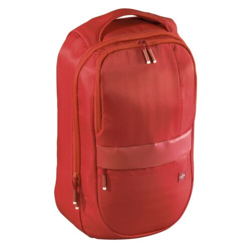 """Hama est.1923 """"Munich"""" Business Backpack, sporty in RED (UK STOCK) NEW"""
