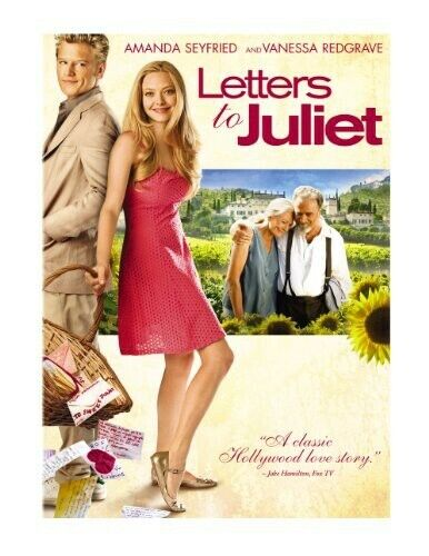 Letters to Juliet (2010, DVD NEW)