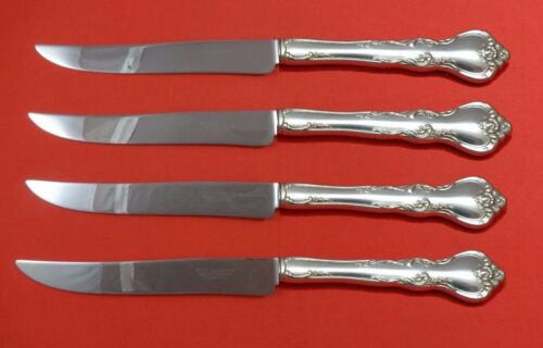 Savannah by Reed and Barton Sterling Silver Steak Knife Set Texas Sized Custom