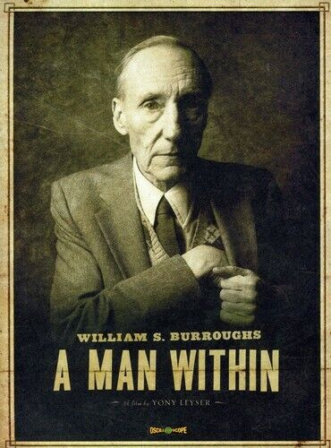 William S. Burroughs: A Man Within (2011, DVD NEW)