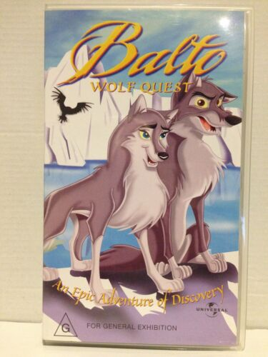 BALTO 2 ~ WOLF QUEST ~ AN EPIC ADVENTURE OF DISCOVERY ~ VHS VIDEO