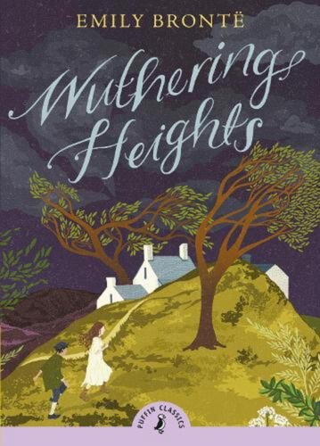 Wuthering Heights by Emily Bronte (English) Paperback Book Free Shipping!