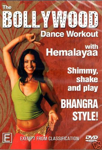 Bollywood Dance Workout with Hemalayaa DVD
