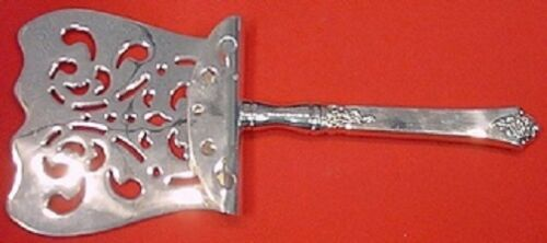 "Castle Rose by Royal Crest Sterling Silver Asparagus Server Hooded 9"" Custom"