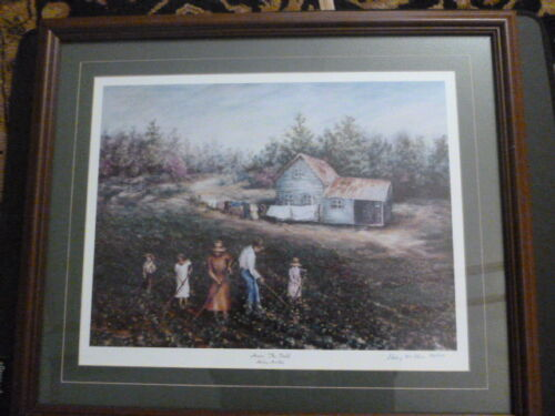 """Shirley McGhee """"Hoein' The Field"""" Signed and Numbered 84/500 Limited Print"""