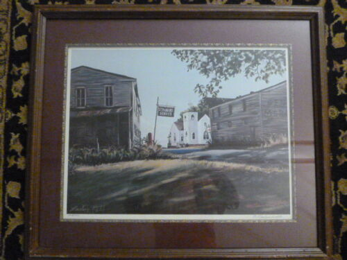 Marlene Webb Signed and Numbered 124/500 Limited Edition Print